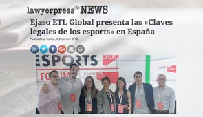 "Nuestro ""ESPORTS GO! I Forum"" en Lawyerpress News"